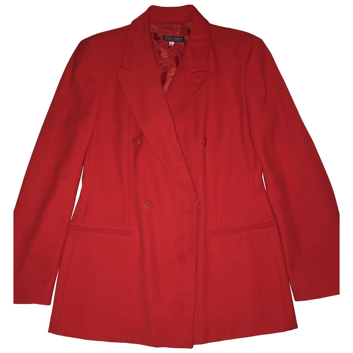 Giorgio Armani - Veste   pour femme - rouge