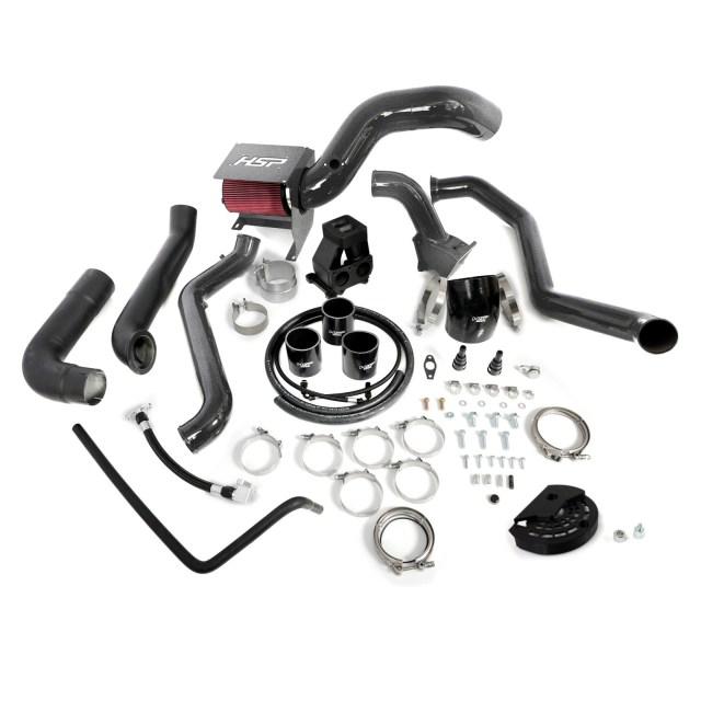 2011-2012 Chevrolet / GMC S400 Single Install Kit No Turbo Dark Grey HSP Diesel 515-1-HSP-DG
