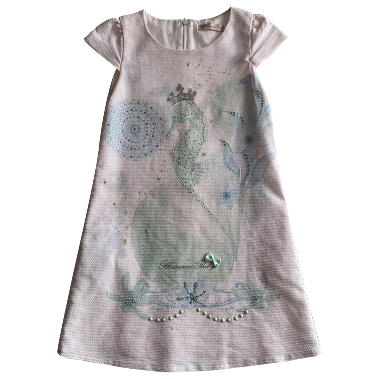 Blumarine \N Pink Cotton dress for Kids 6 years - up to 114cm FR