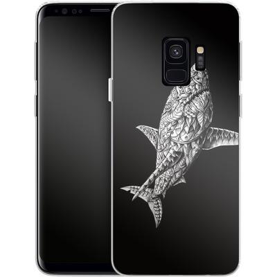 Samsung Galaxy S9 Silikon Handyhuelle - Great White von BIOWORKZ