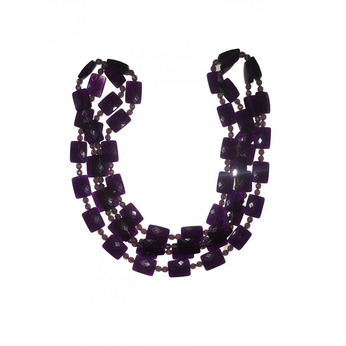 - Sautoir   pour femme - violet