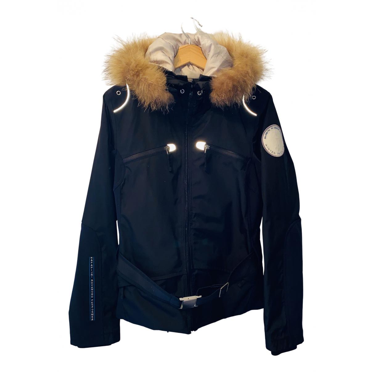 Napapijri - Manteau   pour femme - noir