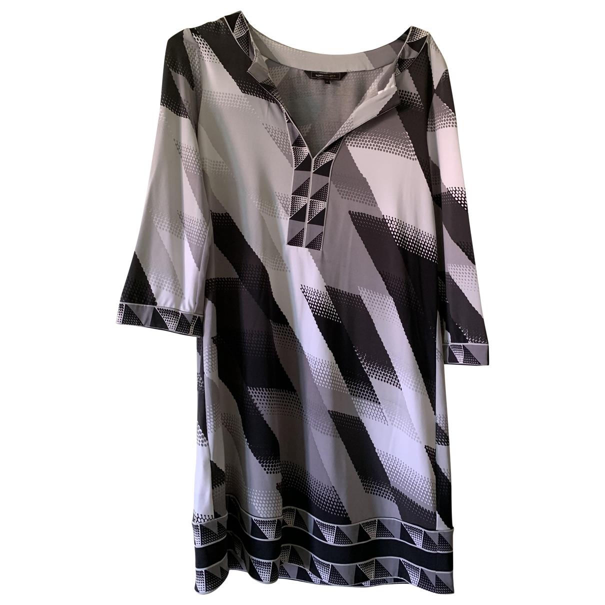 Bcbg Max Azria \N Kleid in  Grau Polyester