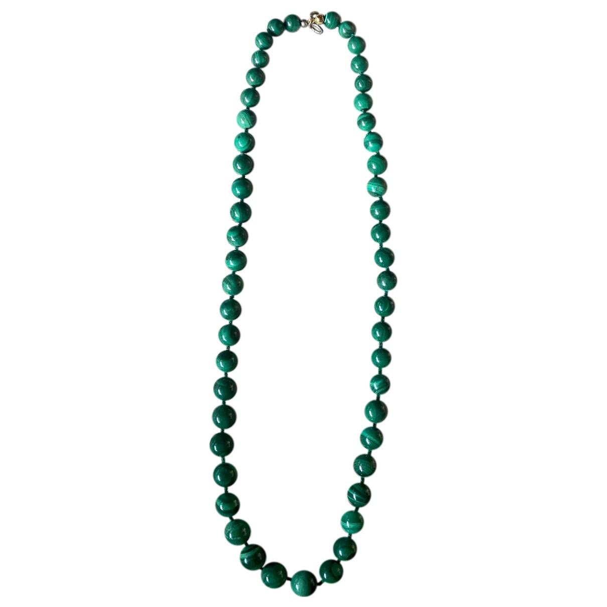 - Sautoir   pour femme en perles - vert