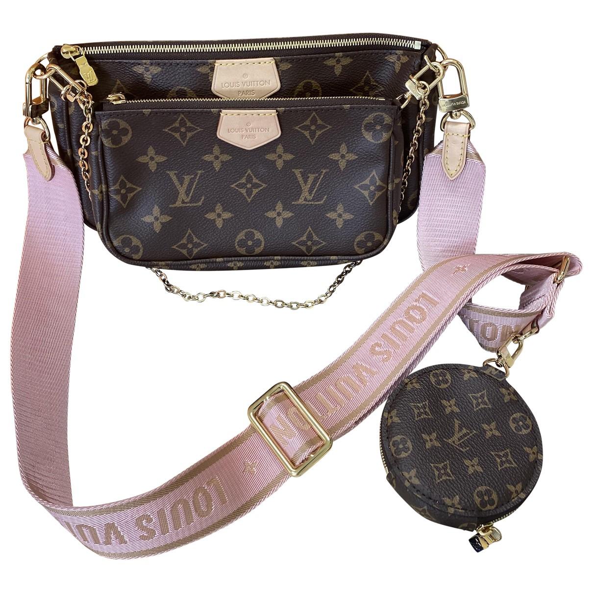 Bandolera Multi Pochette Accessoires de Lona Louis Vuitton