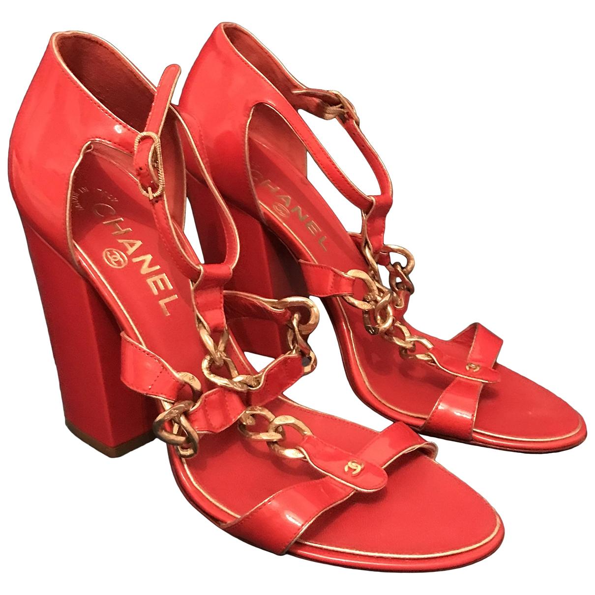 Sandalias de Charol Chanel
