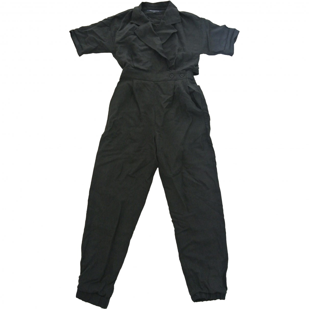 French Connection \N Black Linen jumpsuit for Women 10 UK