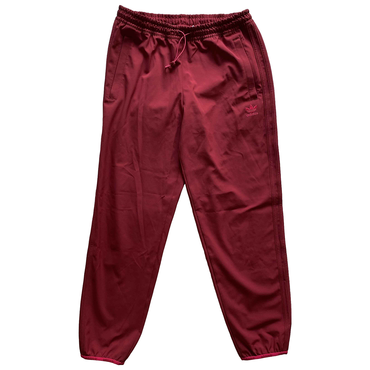 Adidas N Burgundy Trousers for Men M International