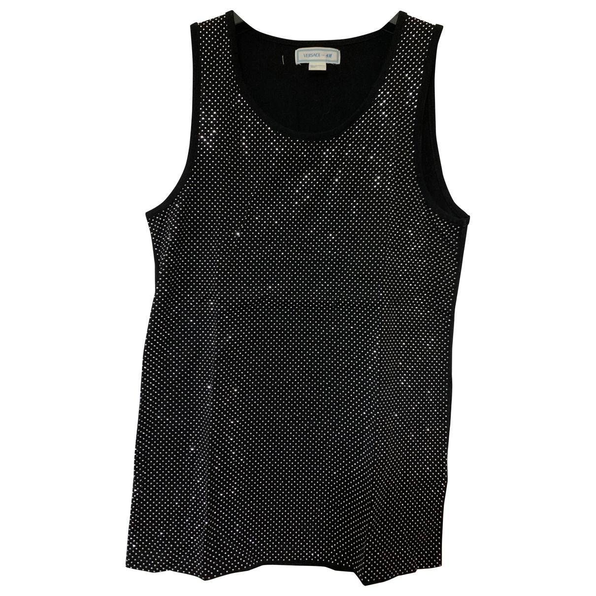 Versace X H&m \N Black Glitter  top for Women S International