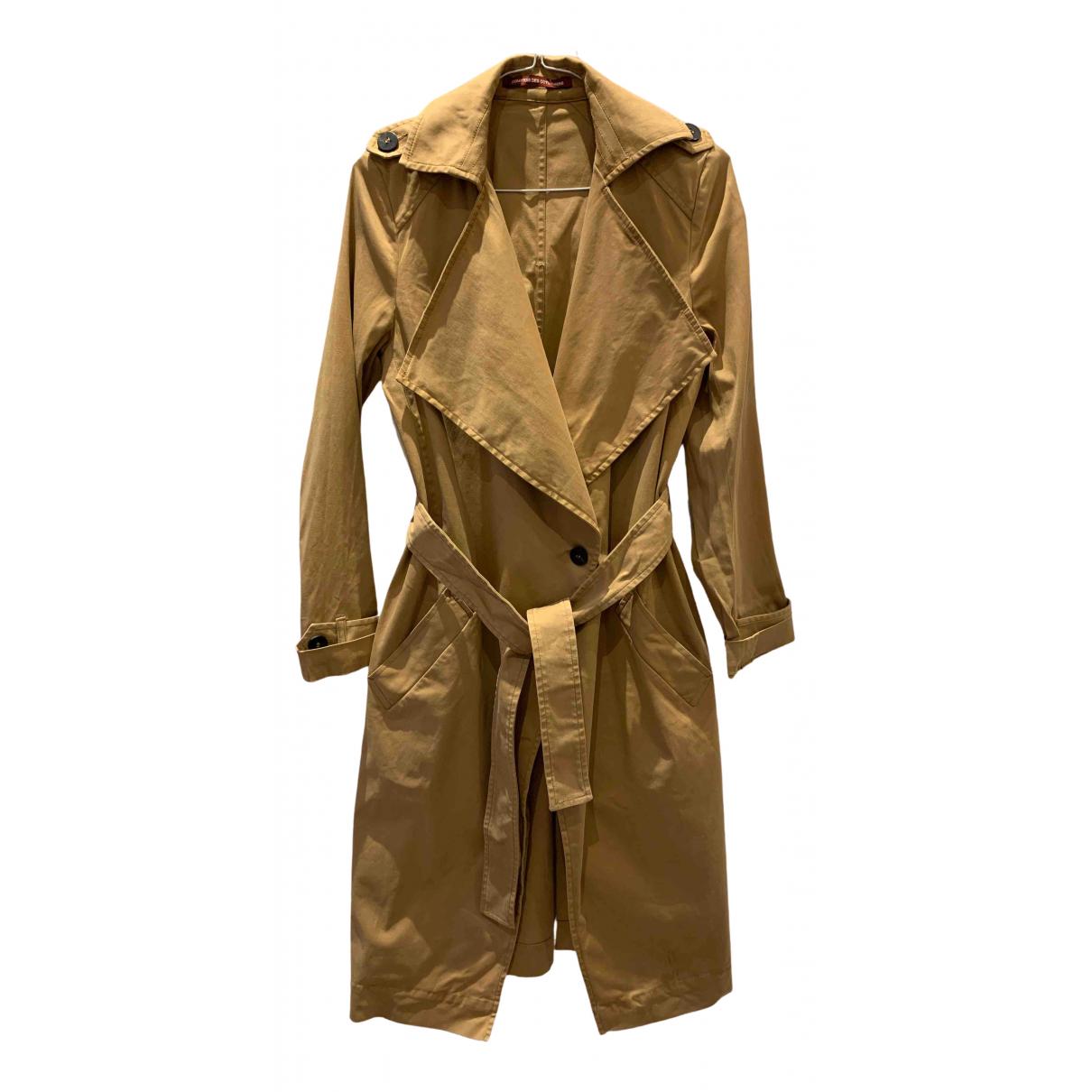 Comptoir Des Cotonniers \N Beige Cotton Trench coat for Women 34 FR