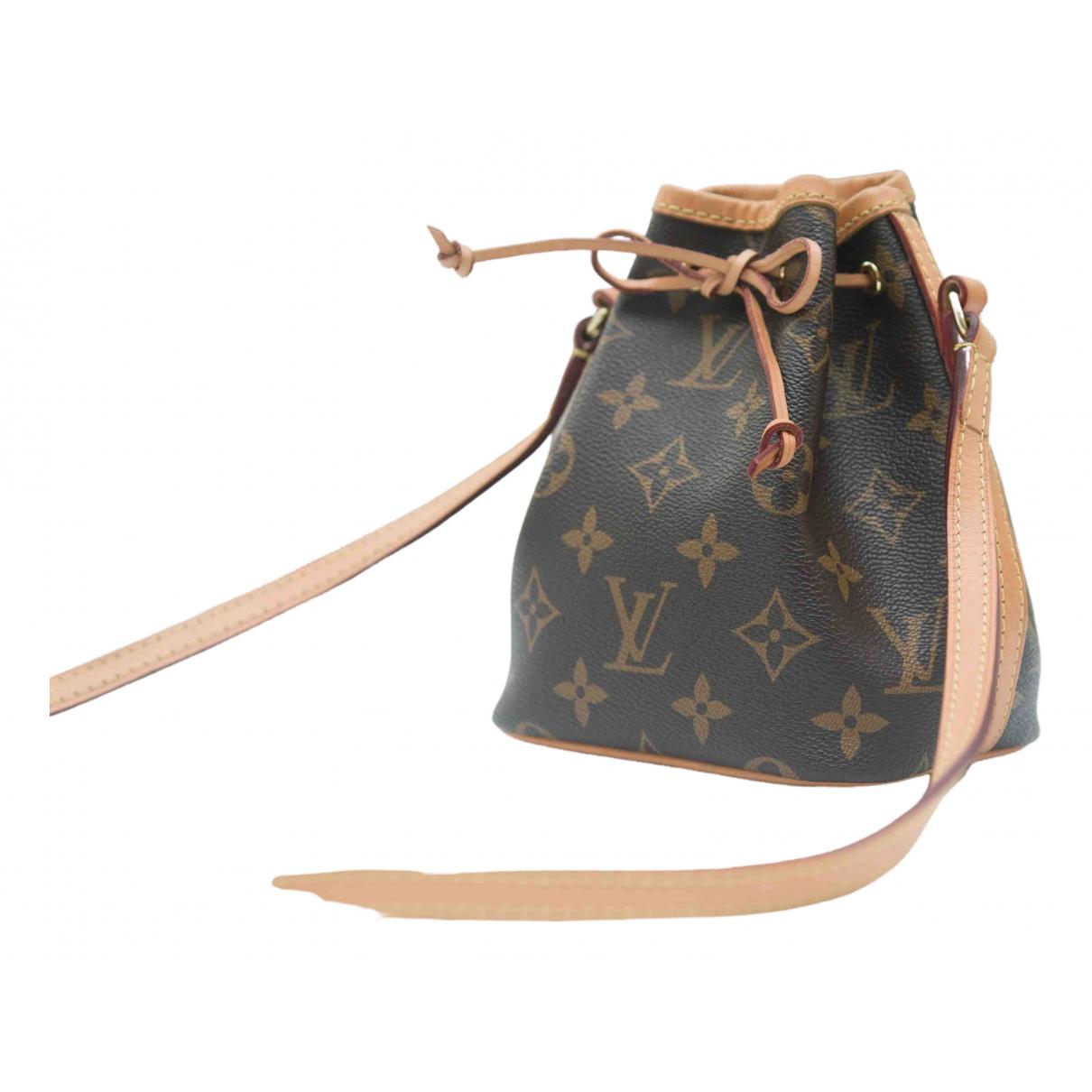Pochette Noe de Cuero Louis Vuitton