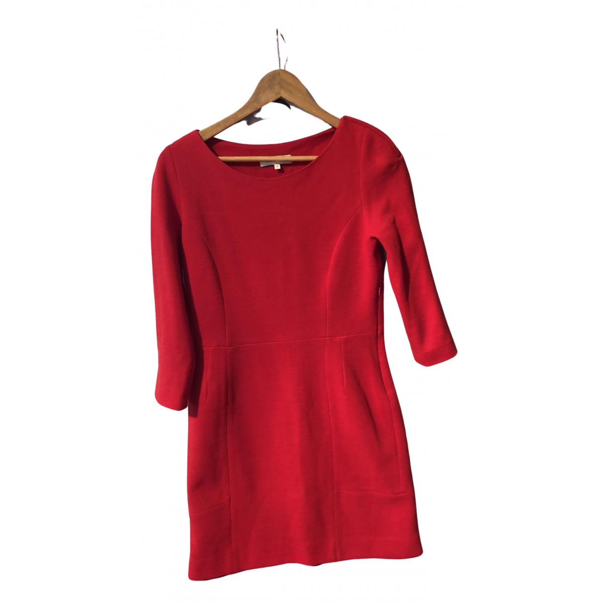 Sandro \N Kleid in  Rot Wolle