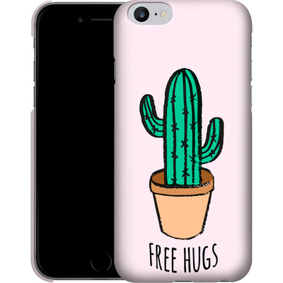 Apple iPhone 6s Plus Smartphone Huelle - Cactus Free Hugs von caseable Designs