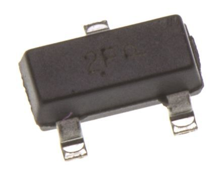 ON Semiconductor ON Semi MMBT2907ALT1G PNP Transistor, 1.2 A, 60 V, 3-Pin SOT-23 (300)