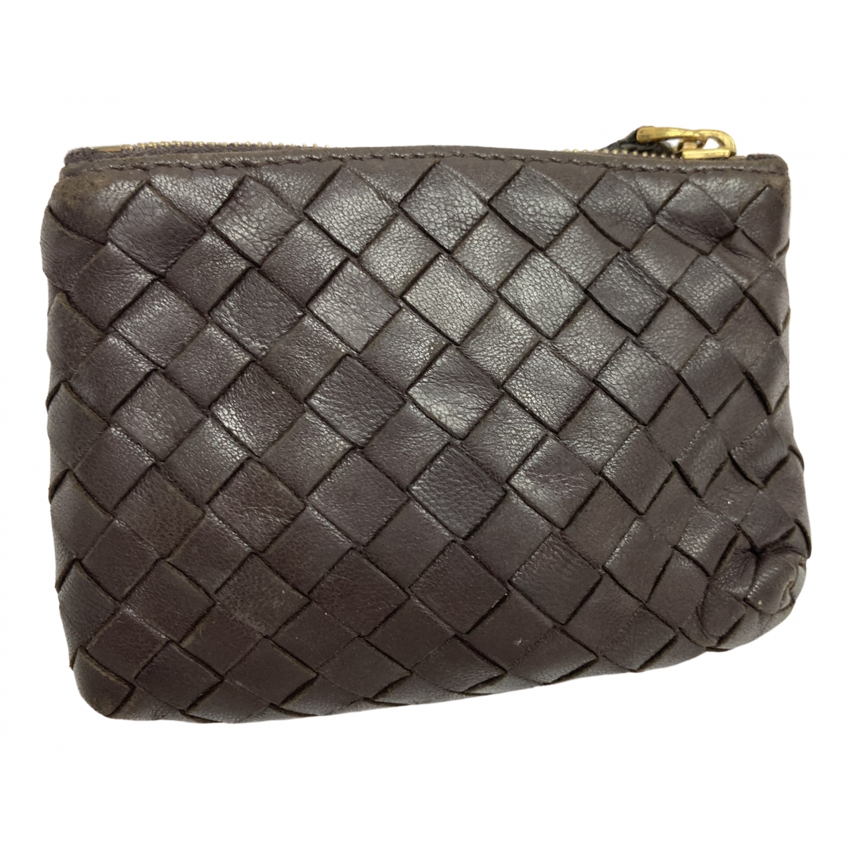 Bottega Veneta \N Brown Leather Purses, wallet & cases for Women \N