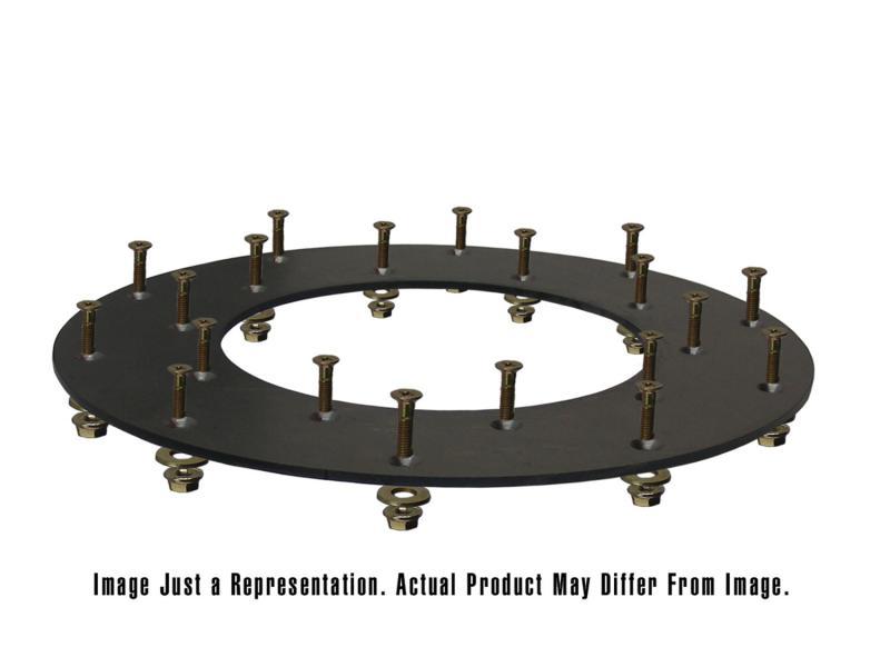Fidanza 221001 Performance Flywheel Friction Kit OD 10.0; ID 6.0; BP 12 6/Fasteners Incl. 21