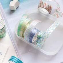 3rolls DIY Plaid Pattern Tape