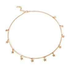 Kette Halsband mit Stern