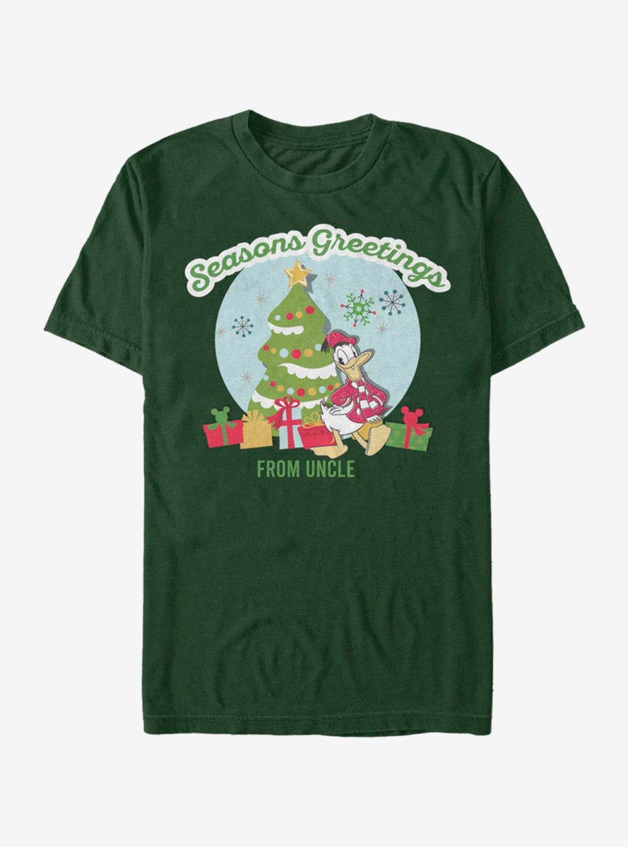Disney Mickey Mouse Greetings From Uncle T-Shirt