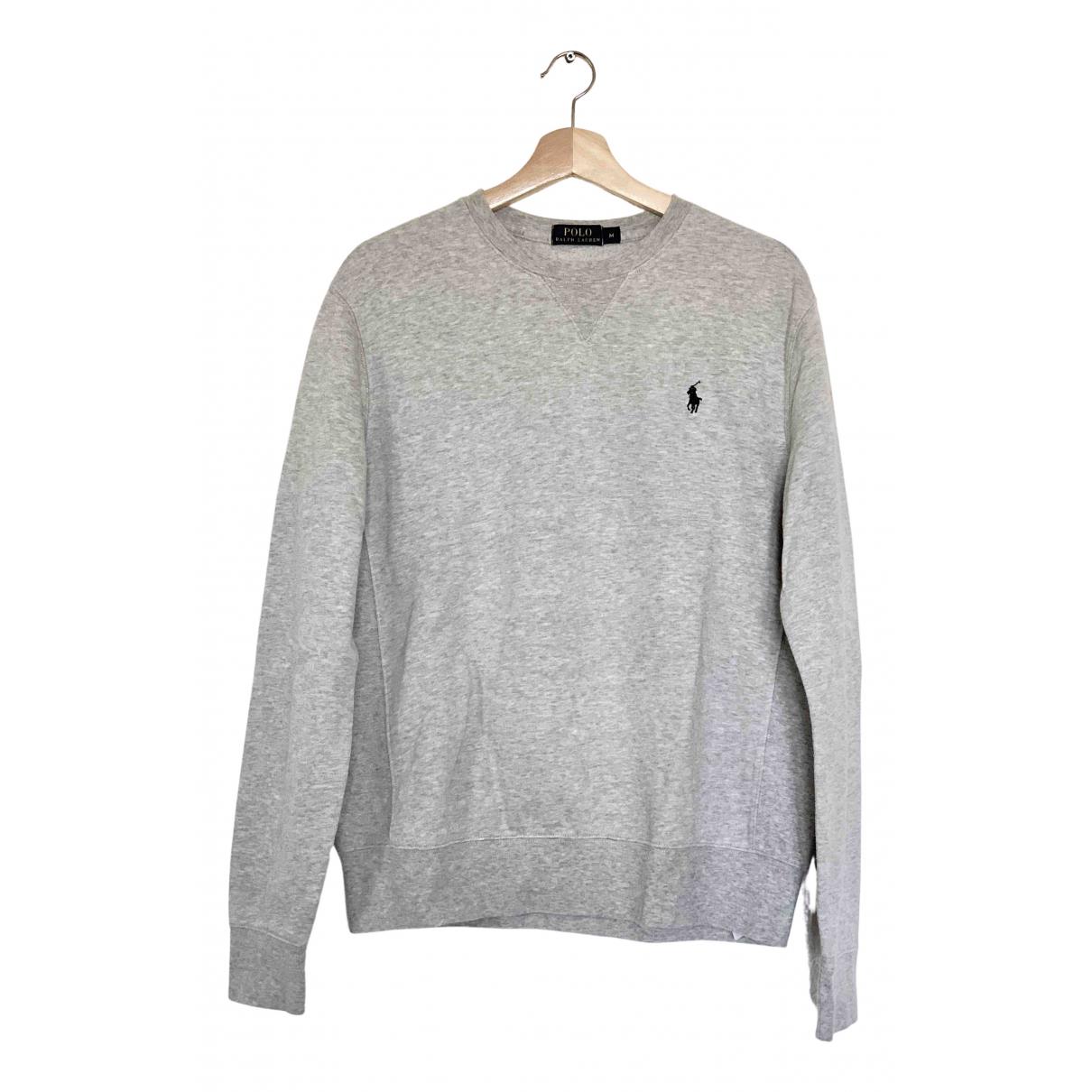 Polo Ralph Lauren \N Pullover.Westen.Sweatshirts  in  Grau Baumwolle