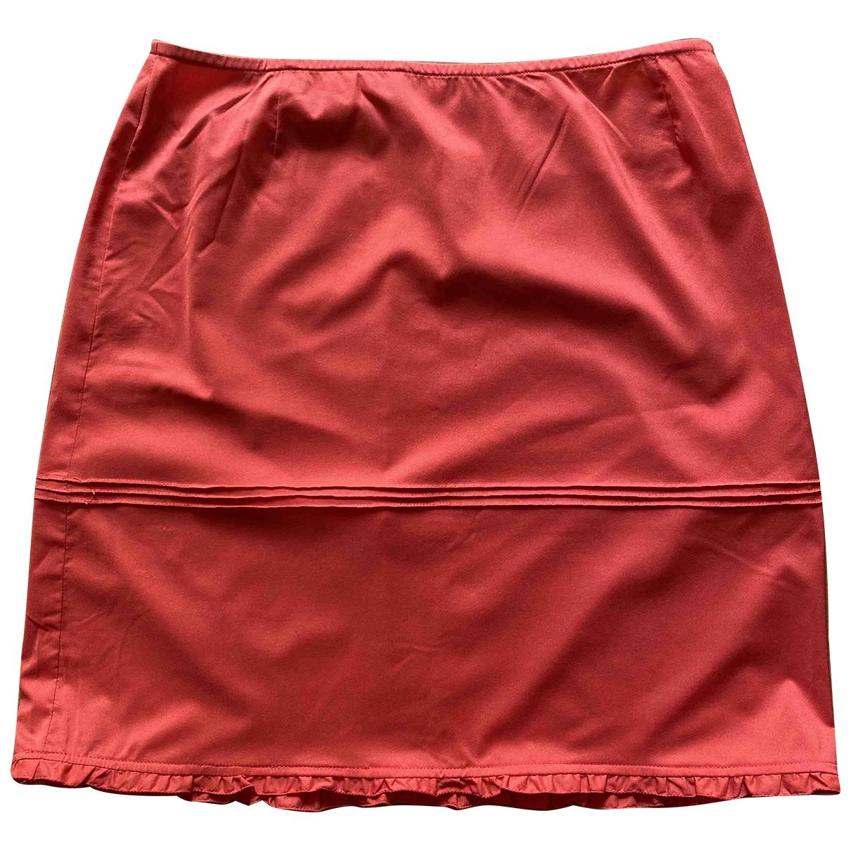Miu Miu \N Rocke in  Rot Polyester