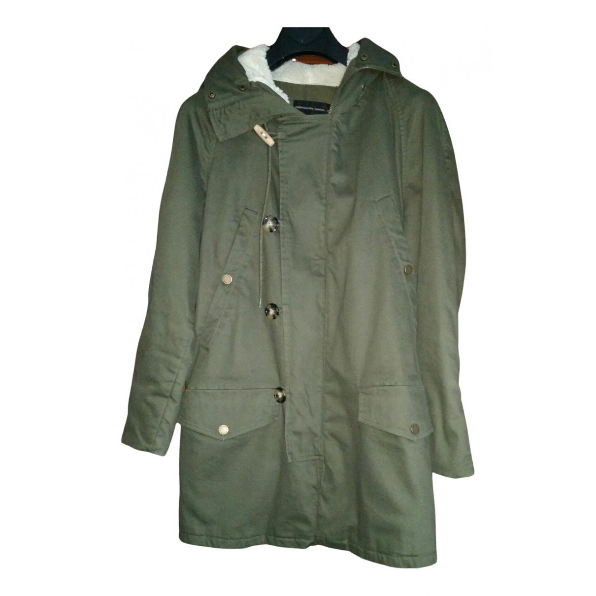 - Manteau   pour femme en coton - vert