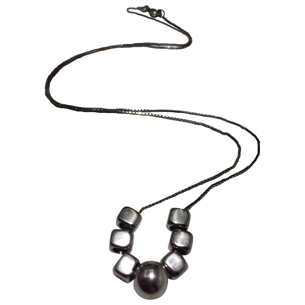 - Collier Chaines pour femme en argent - argente