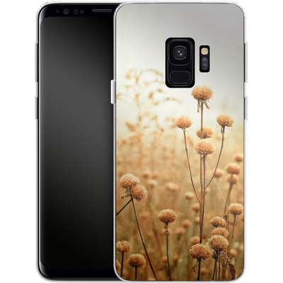 Samsung Galaxy S9 Silikon Handyhuelle - Daybreak In The Meadow von Joy StClaire