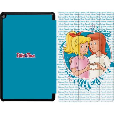 Amazon Fire HD 10 (2017) Tablet Smart Case - Bibi und Tina Freundschaft von Bibi & Tina