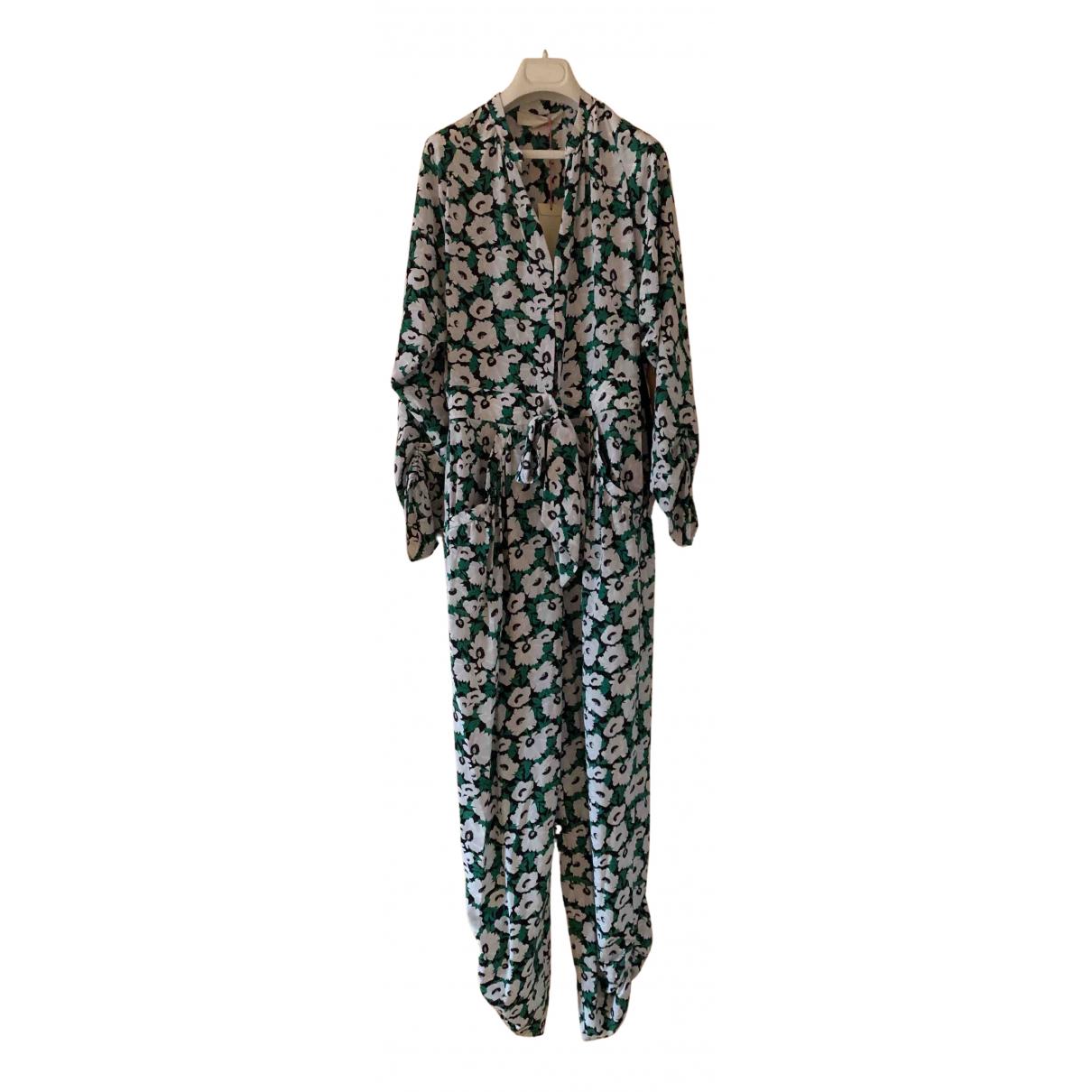 Stella Mccartney N Green Silk jumpsuit for Women 40 IT
