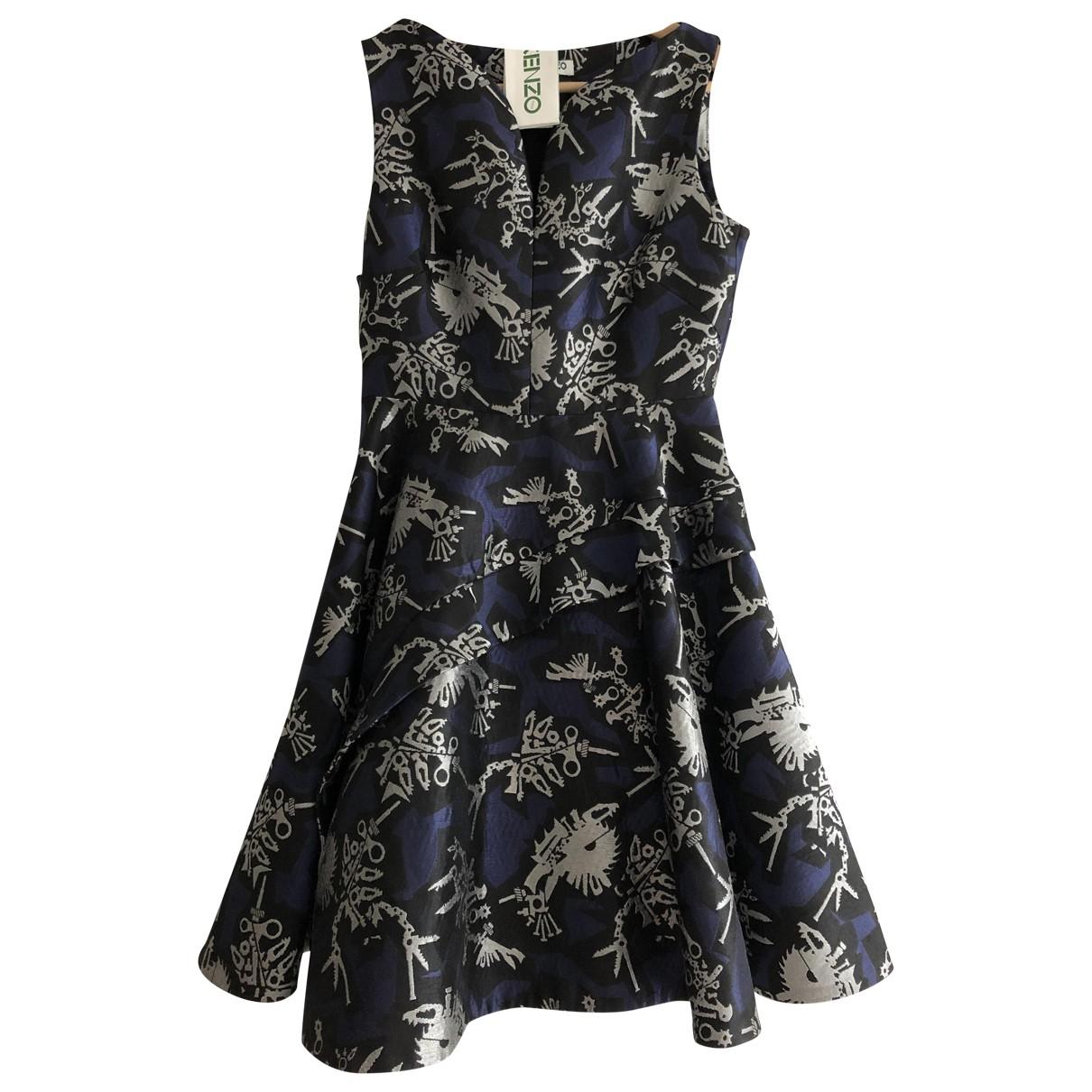 Kenzo \N Kleid in  Blau Polyester