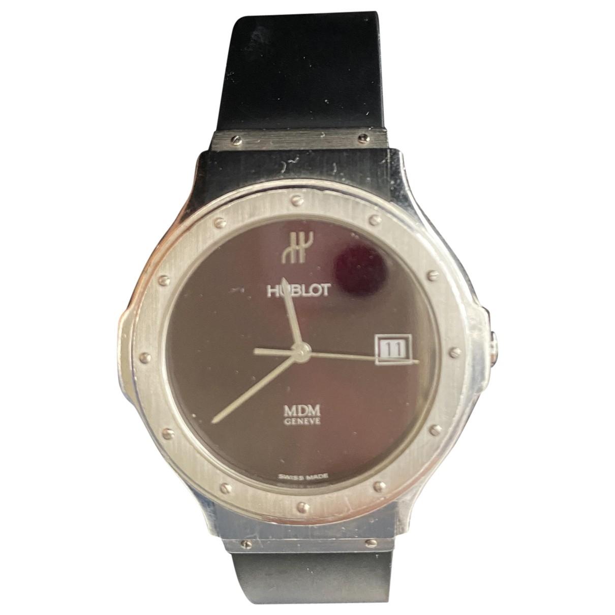 Hublot MDM Uhr in  Silber Stahl