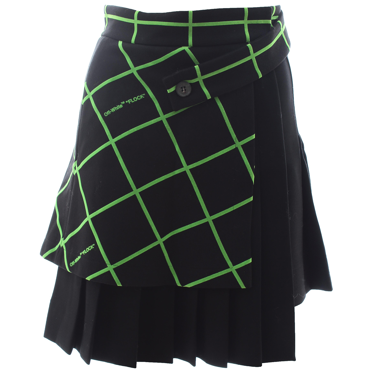 Off-white \N Black skirt for Women 36 IT