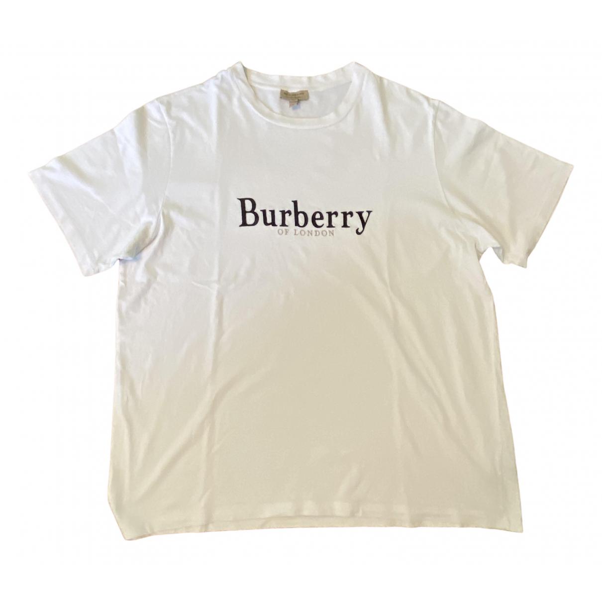 Burberry \N Top in  Weiss Baumwolle