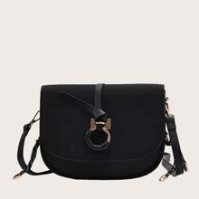 Tasche mit O-Ring Dekor