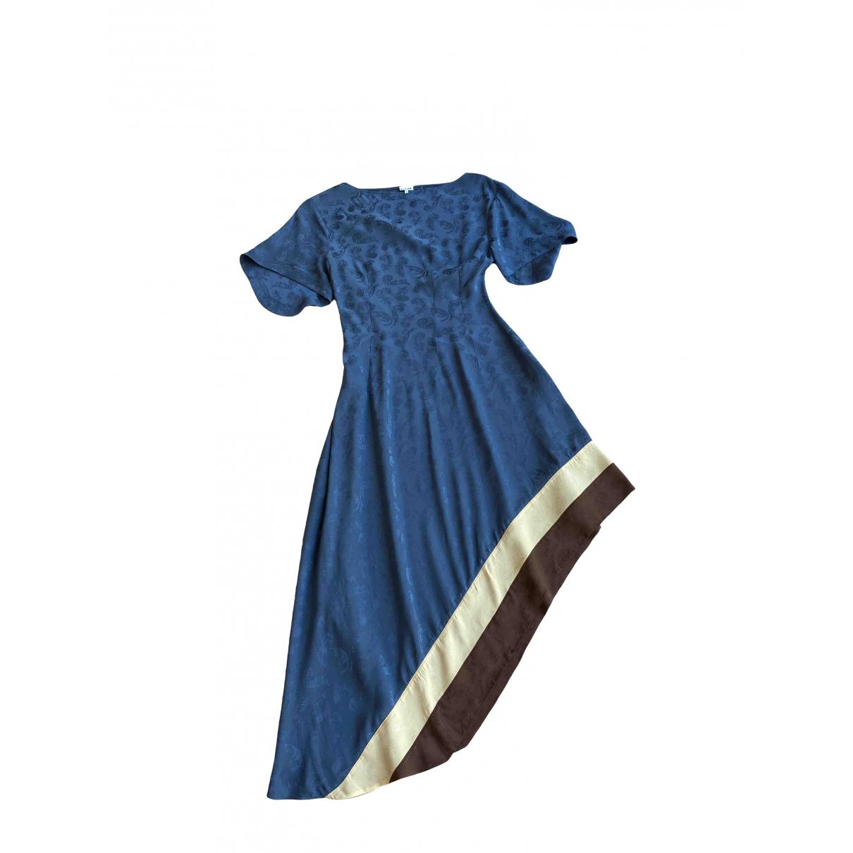 Loewe \N Blue dress for Women 36 FR