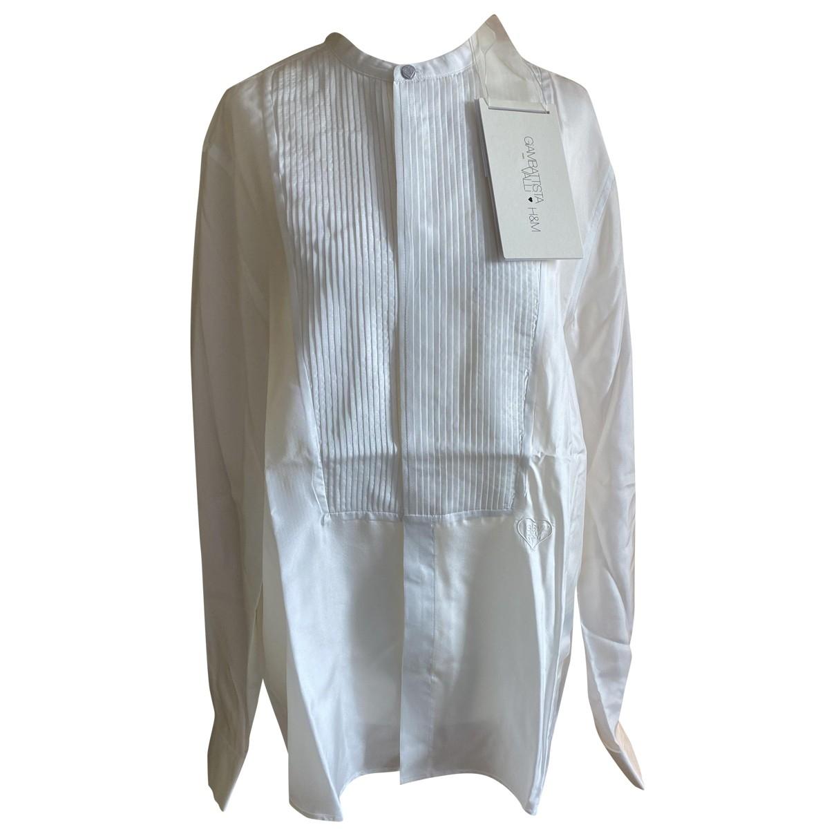 Giambattista Valli X H&m \N White Silk Shirts for Men M International