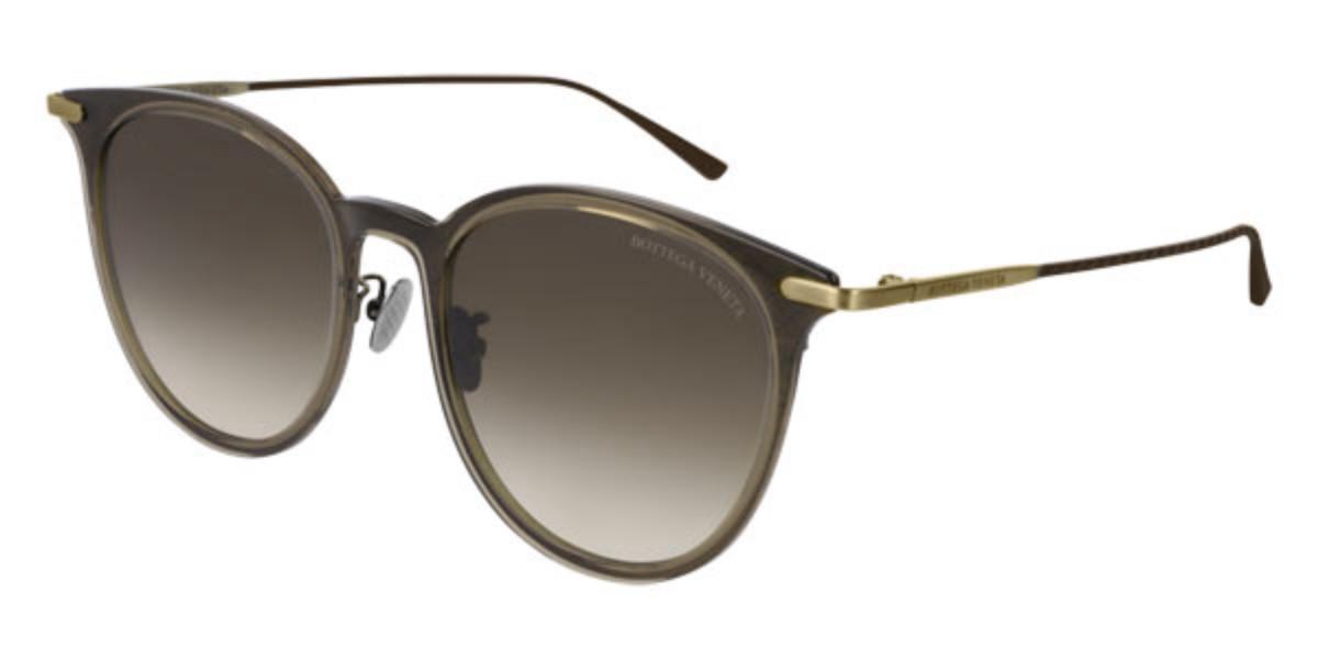 Bottega Veneta BV0222SK 002 Women's Sunglasses Brown Size 55