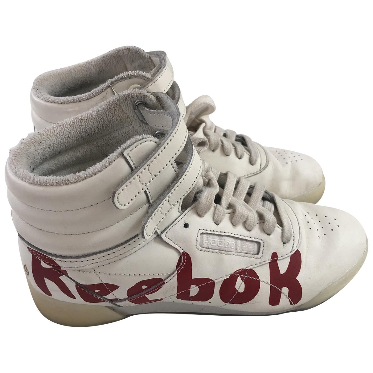 Reebok - Baskets   pour enfant en cuir