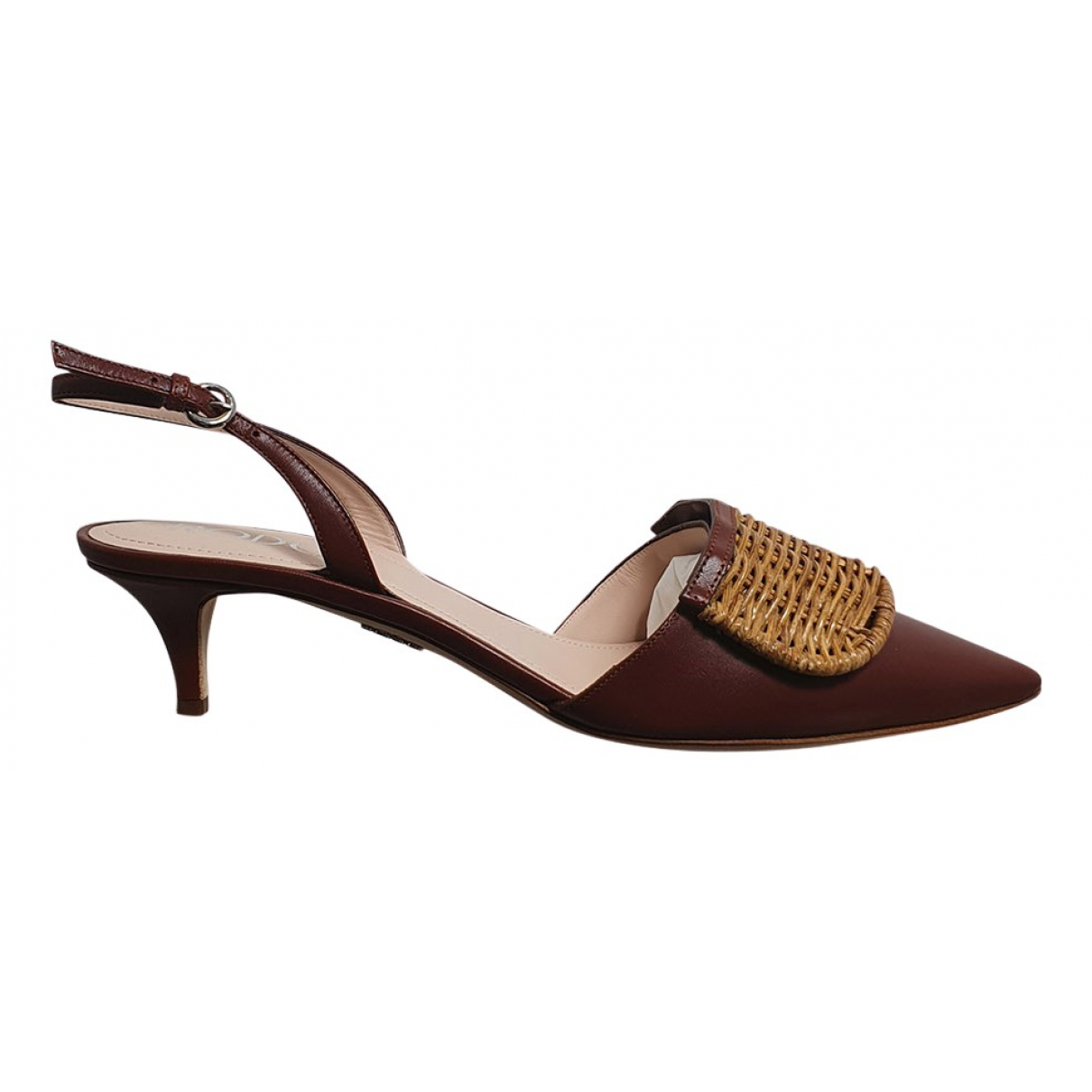 Rodo \N Pumps in  Braun Leder