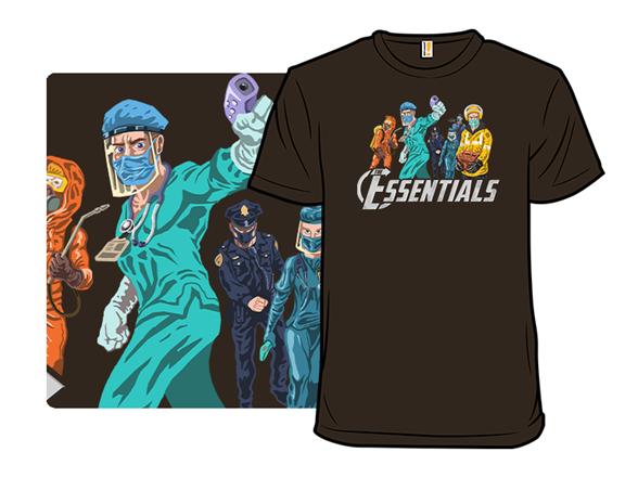 Mightiest Heroes T Shirt