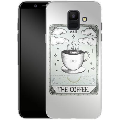 Samsung Galaxy A6 Silikon Handyhuelle - The Coffee von Barlena