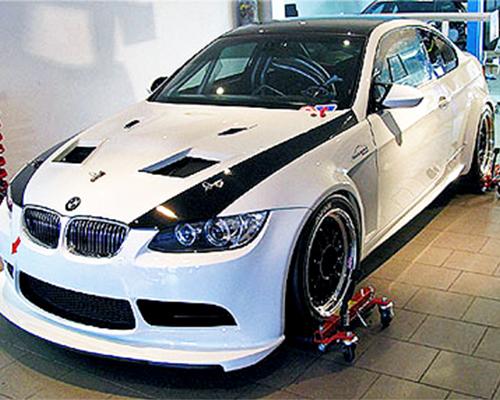 Flossman GT3 Rear Bumper BMW E92 M3 08-13