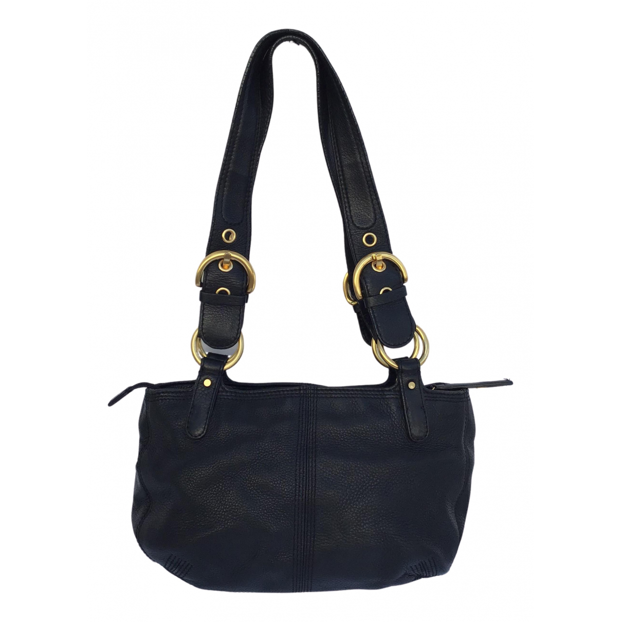 M Missoni \N Handtasche in  Schwarz Leder