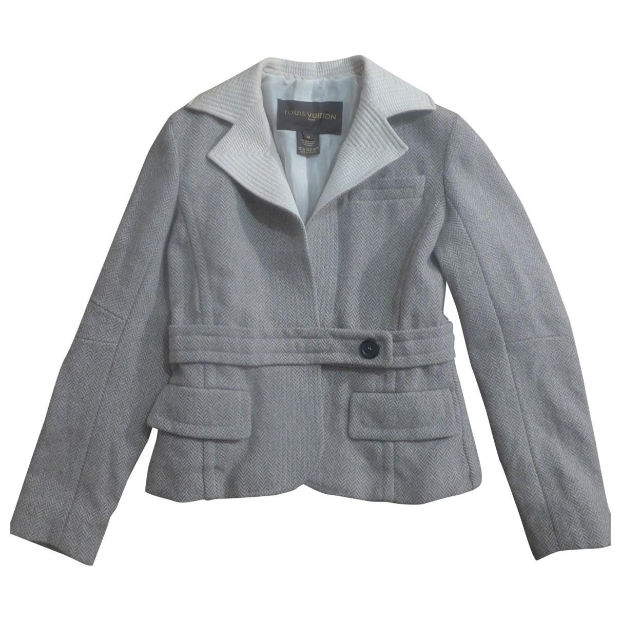 Louis Vuitton \N Jacke in  Beige Wolle