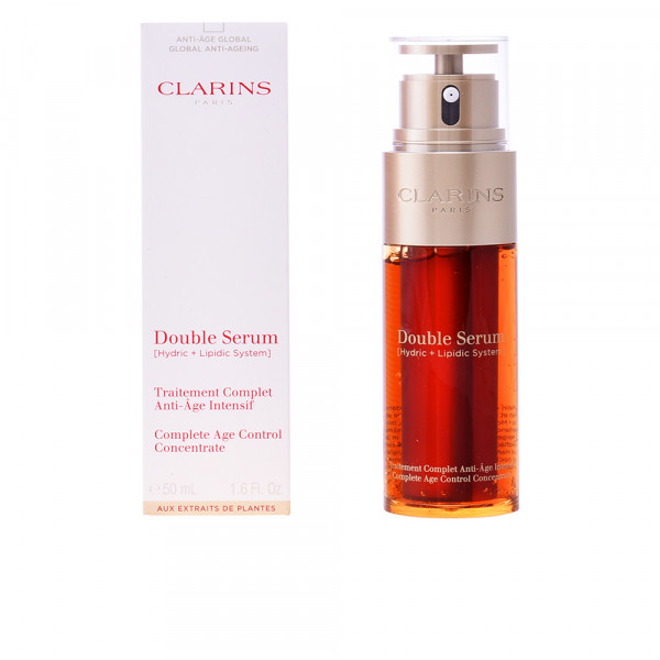 Double Serum - Une concentration inegalee dactifs anti-age - Clarins Tratamiento 50 ml