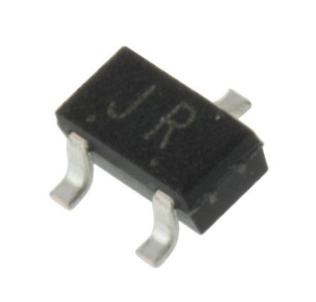 Toshiba 2SK208-R(TE85L,F) N-Channel JFET, 10 V, Idss 0.3 → 0.75mA, 3-Pin SOT-346 (SC-59) (10)