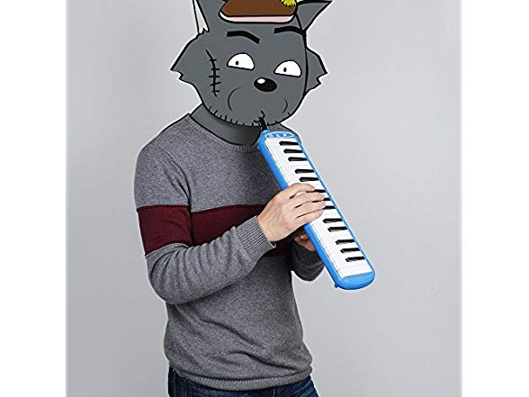 Vangoa Melodica Blue Pianica