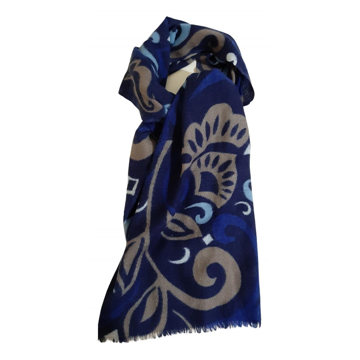 Altea \N Schal in  Blau Wolle