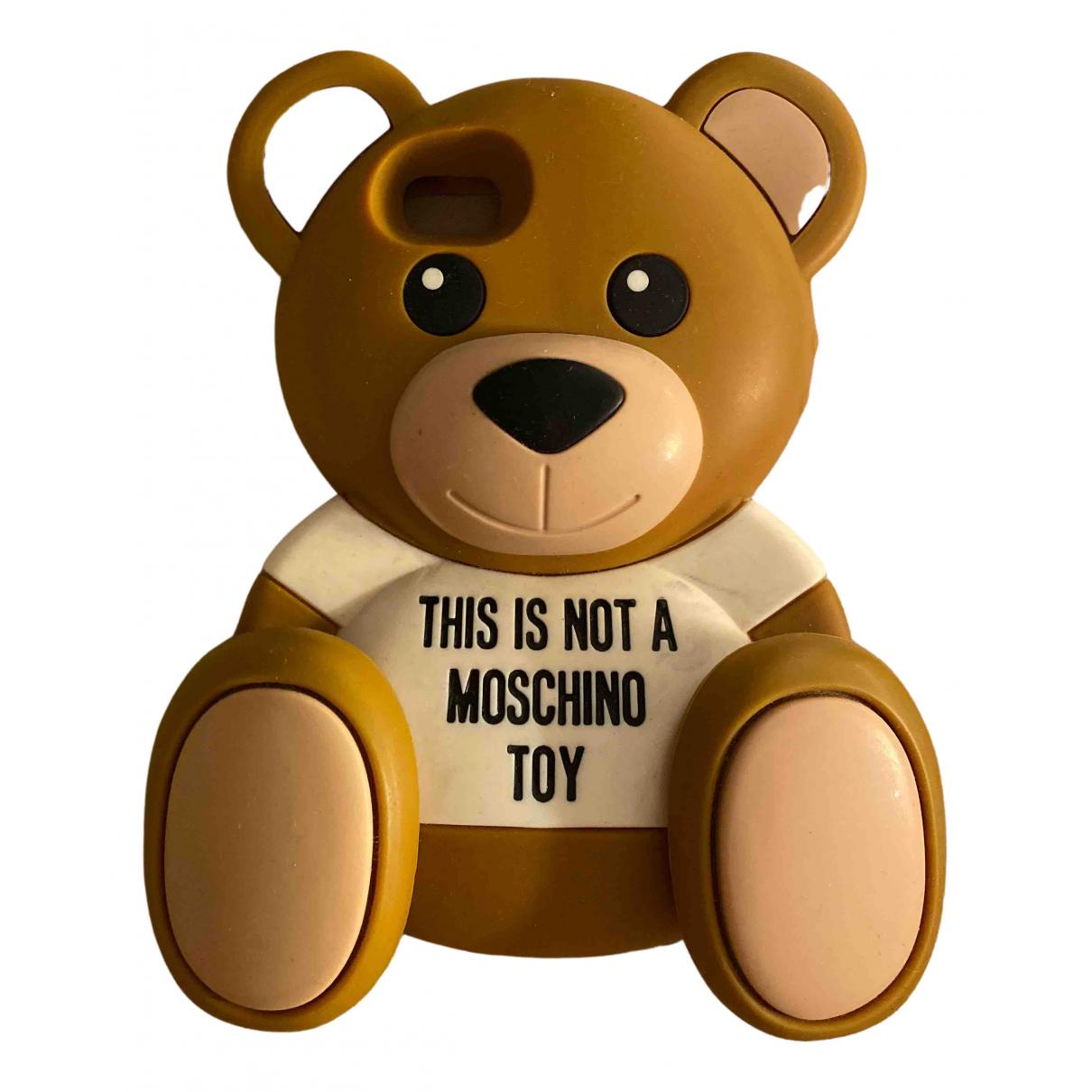 Moschino \N Accessoires in  Braun Kunststoff